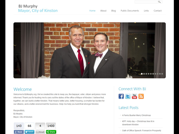 BJ Murphy Nonprofit Website Design