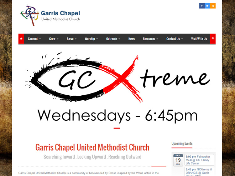 garrischapelchurchwebsitedesign