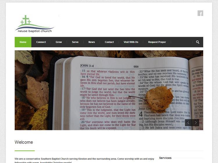 neusebaptistchurchwebsitedesign