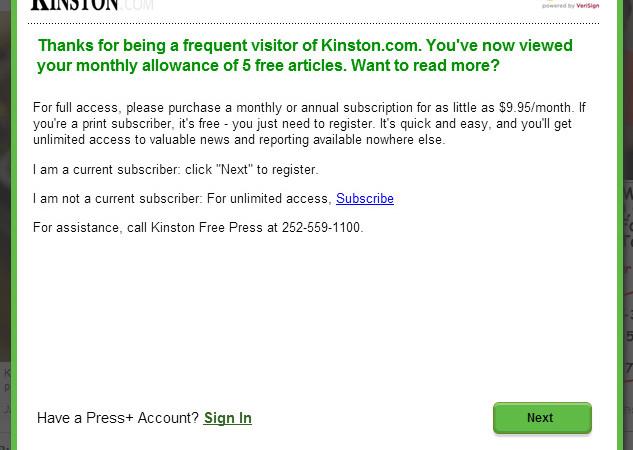 kinston free press